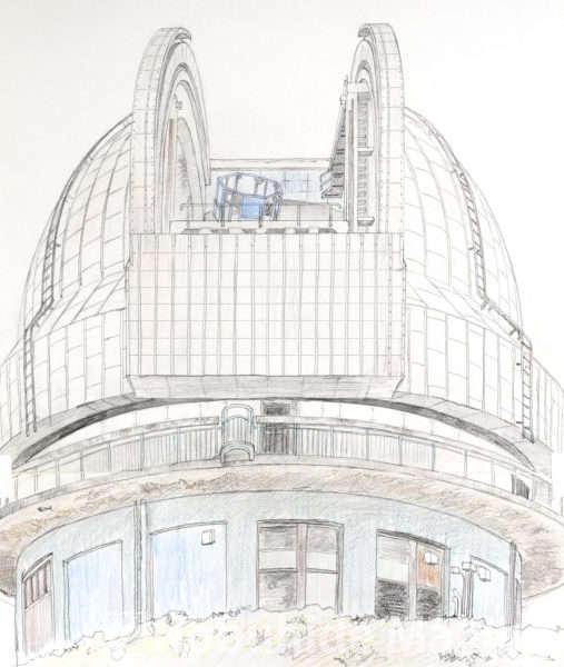 天文台(素描)