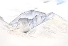 浅間山(素描)